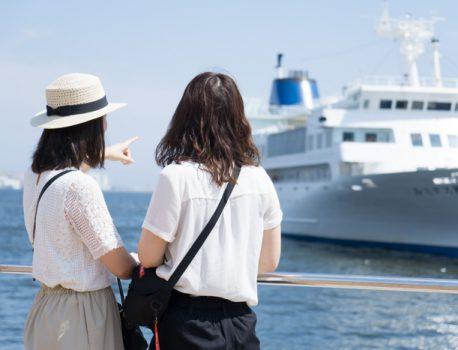 初夏の日差しの君は1000%/神戸港ポートレート