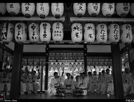 もうひとつの京都祇園祭り・平成女鉾清音会・祇園囃子奉納