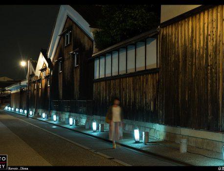 京都の酒処、伏見酒蔵通り 灯ろうライトアップに行ってきた