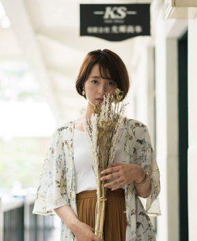 大阪レトロと平成最後の夏色のナンシー/北浜ポートレート