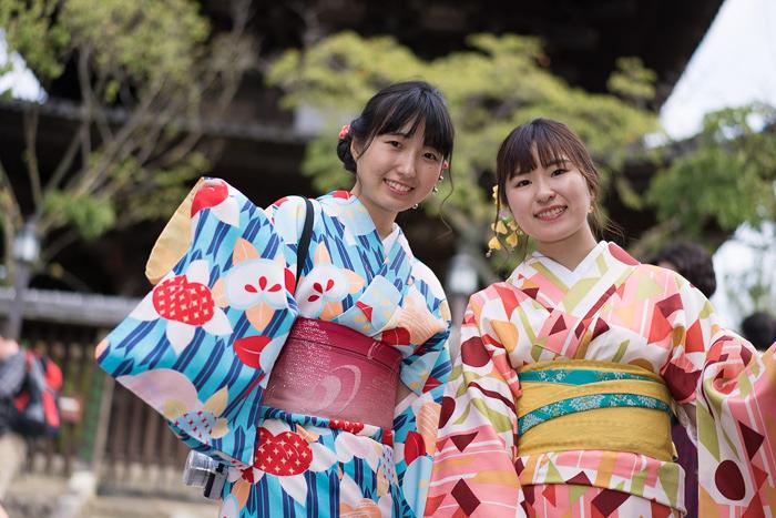 残暑の京都のさよなら夏の日