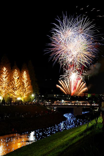 奈良県王寺町で毎年秋に行われる王寺ミルキーウェイ(天の川)というイベントがあります。