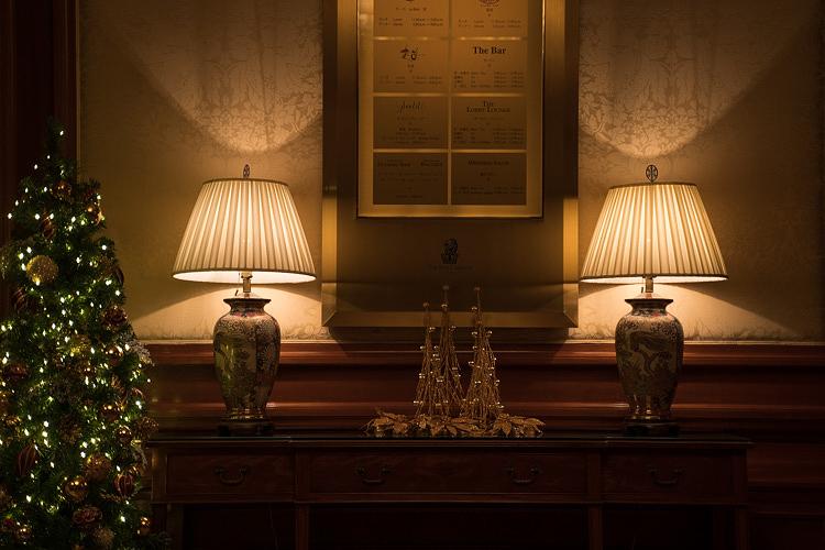 ザ・リッツ・カールトン大阪で静かな大人のクリスマスのひと時を。