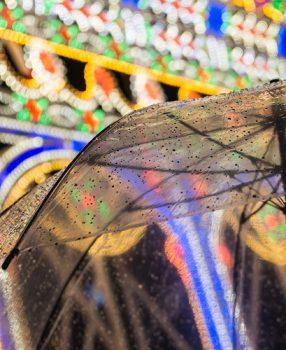 今年で24回目、神戸ルミナリエ2018は雨とともに終わりました。