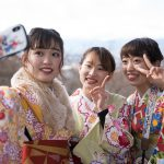 平成最後の京都のお正月はいつものように元気いっぱいの着物美人で華やかでした