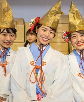 のろまな亀なんて言ってられない!?関西芸能・女子アナへの登竜門、「大阪今宮えびす福娘物語」