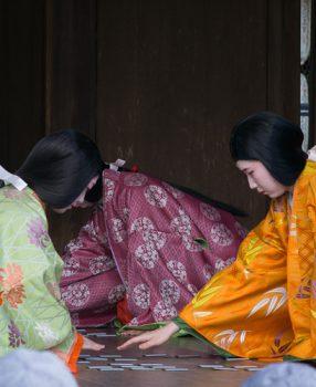 新春の京都を華やかに彩る、八坂神社・かるた始め式に行ってきた