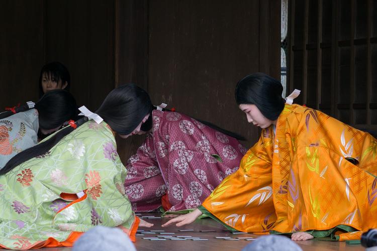新春の京都を華やかに彩る、八阪神社・かるた始め式に行ってきた