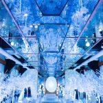 レトロ建築の結婚式場、芦屋モノリスの「純白の森ナイトミュージアム」に行ってきた