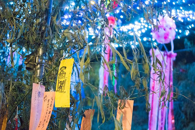 大阪の七夕を彩るイルミネーションイベント、七夕のゆうべ in 四天王寺に行ってきた