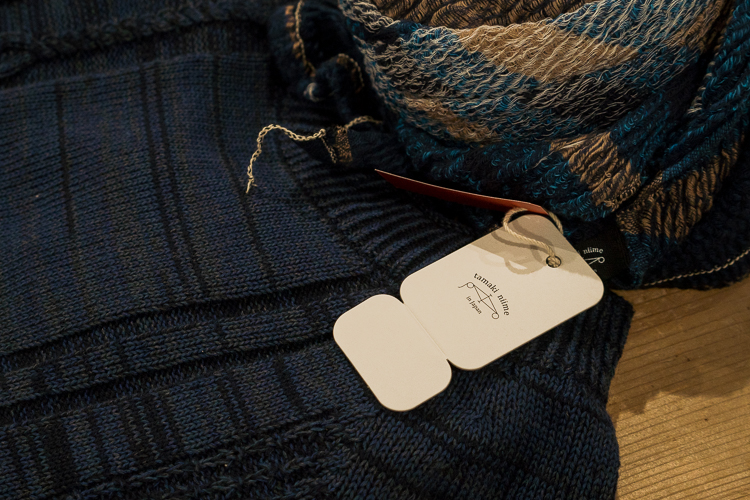 あの播州織のブランド「Tamaki niime」で、センス良いアイテムのお買い物と工房見学に行ってきた